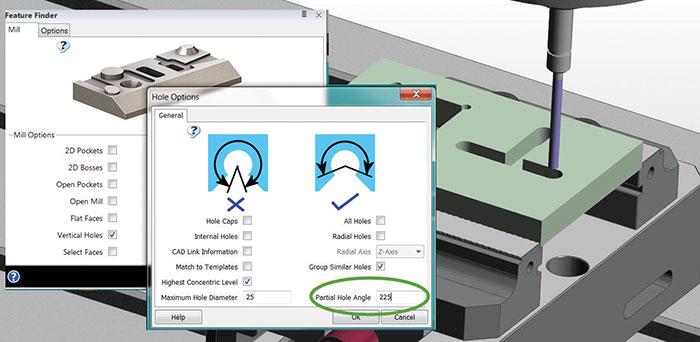 Prod-Rev-EdgeCAM-3-Feature-Finder-Partial-Hole-Angles