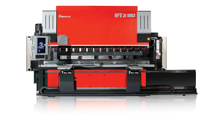Amada HFE-1003 3i press brake with offline programming and