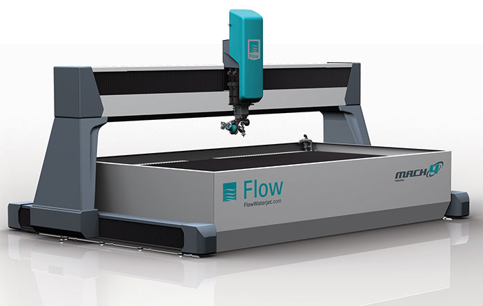 Flow waterjet systems – Mach 4 |