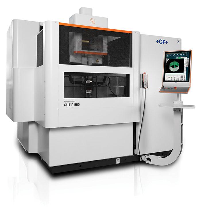 GF Machining Solutions CUT P series of wire EDM machines |