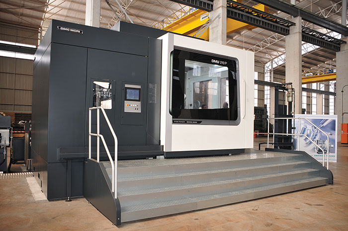 Large Dmg Mori 5 Axis Milling Machine Investment Gears Up