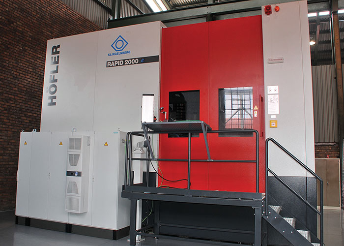 Harcliff gears up with CNC grinding |