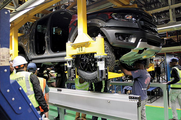 Ford to spend an additional R160 million in readiness for